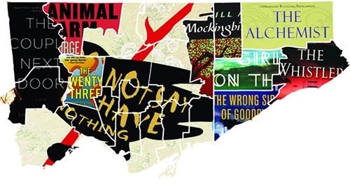 Literary map of Toronto