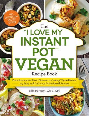 I love my instant pot vegan