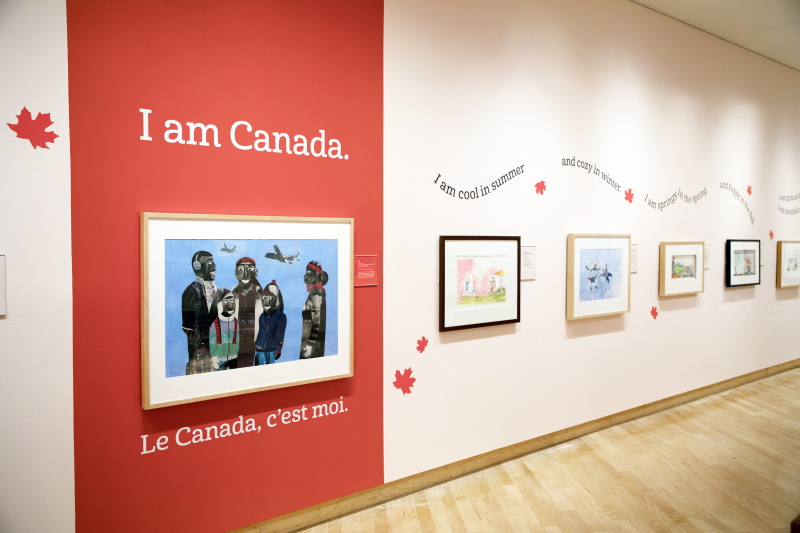 I Am Canada  in the TD Gallery
