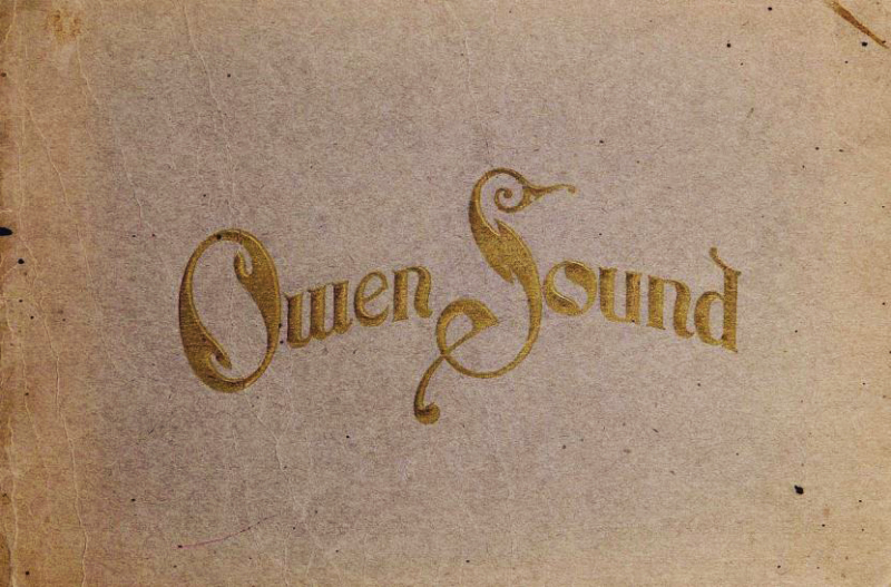 Owen Sound title page