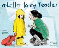 Letter to my teacher