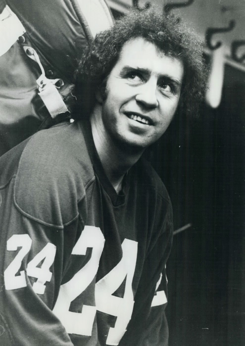Portrait of hockey plaer Brian Glennie