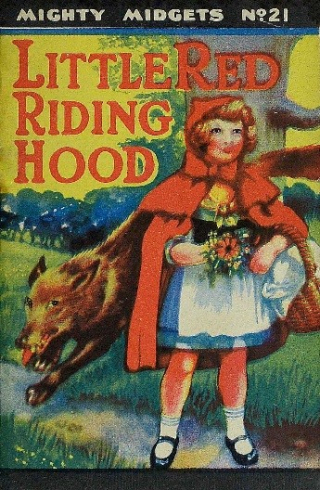 6.Red Riding Hood - her friends of the woodlands save her from the wicked wolf. Marten-Wayne  Arthur.1939