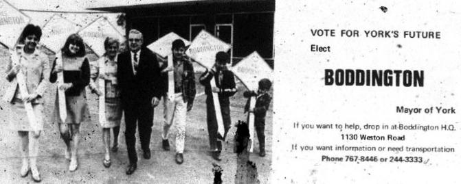 Boddington Mayor York 1969