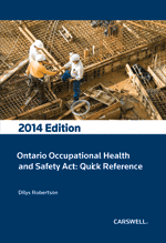 Ontario Occupational Health and Safety Act