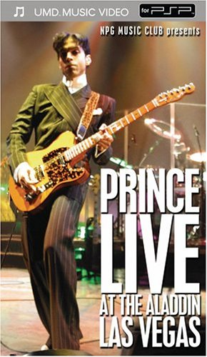 Prince live at Las Vegas (DVD)