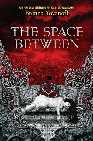 Book cover the space between by brenna yovanoff