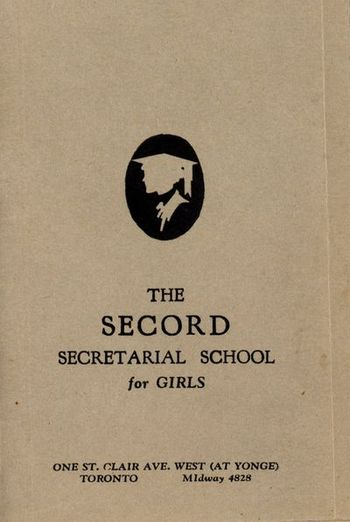Secord Secretarial School for Girls