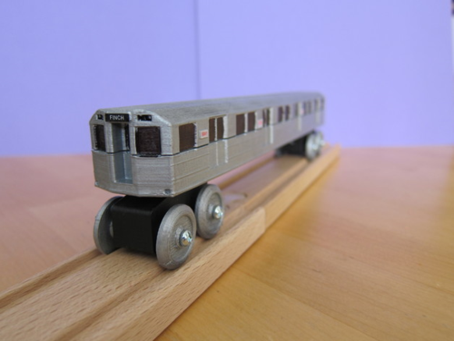 TTC H6 Subway Car for Wood Tracks
