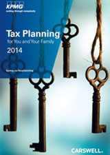 Tax Planning for You and Your Family 2014