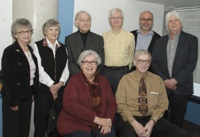Group photo of NYHS executives and TPL managers with Councillor John Filion.