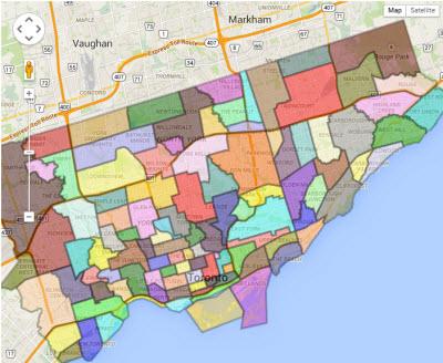 Map of Neighbourhood Historical Resources