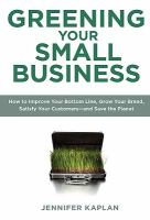 Greening your small busines