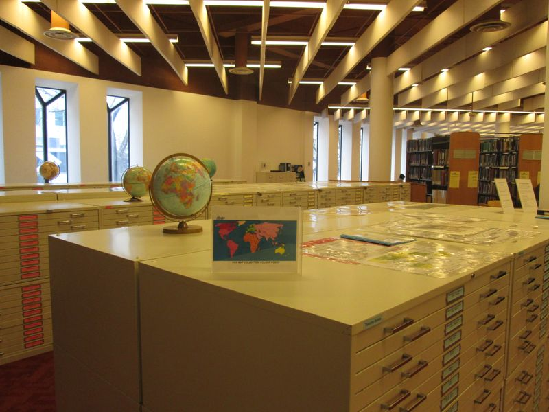 HSS Map Collection 2nd Floor TRL
