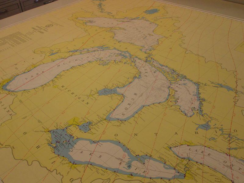 Great Lakes Nautical Charts