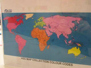 HSS Map Colour Codes