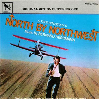 North by northwest original motion picture score LP vinyl record