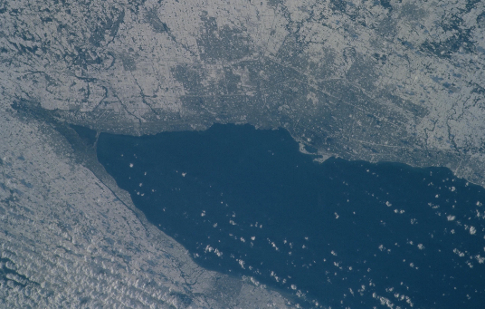 View of Toronto from space