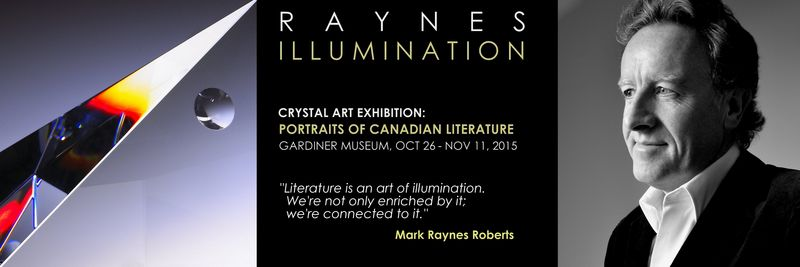 ILLUMINATION by Mark Raynes Roberts at the Gardiner Museum.