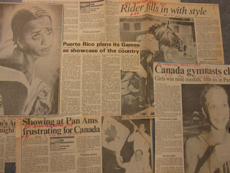 Pan Am Newspaper Collage