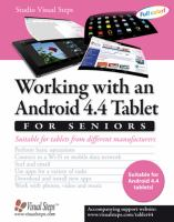 Working with an Android 4.4 tablet for seniors suitable for tablets from different manufacturers