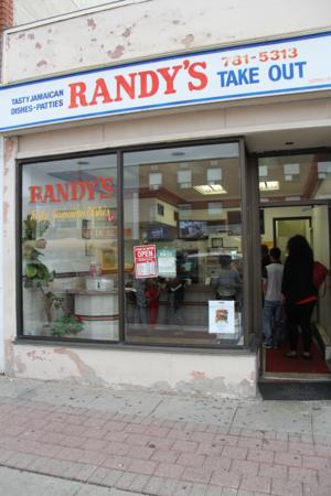 Randy's take out shop