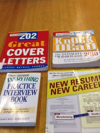 Cover of resume books