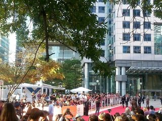 TIFF red carpet Metro Hall