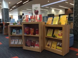 Living Well Display at Mount Dennis Branch