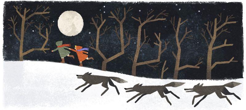Joan Aiken - Google Doodle