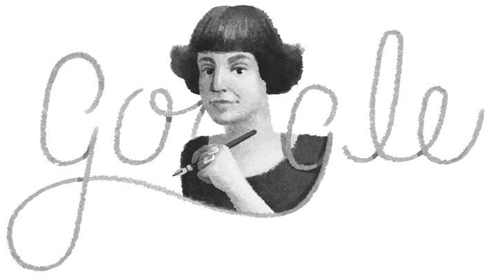 Marina Ivanova Tsvetaeva - Google Doodle