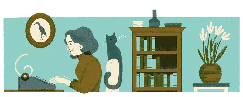 Nadine Gordimer - Google Doodle