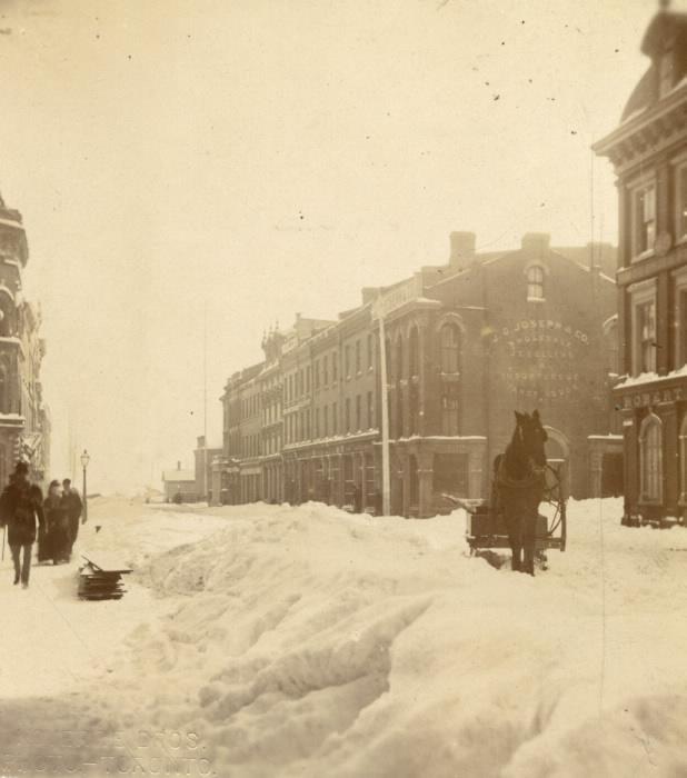 1870s Yonge Street looking south of King St near Wellington