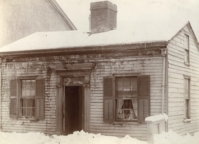 1890 Robert Millen house on Bay Street, west side, south of  Albert Street