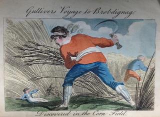 Benjamin Tabart Gullivers Travels Brobdingnag
