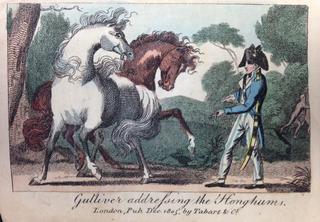Benjamin Tabart Gullivers Travels Houyhnhnms