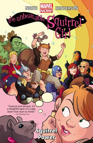 Squirrel Girl cover