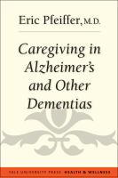 Caregiving in Alzheimers and