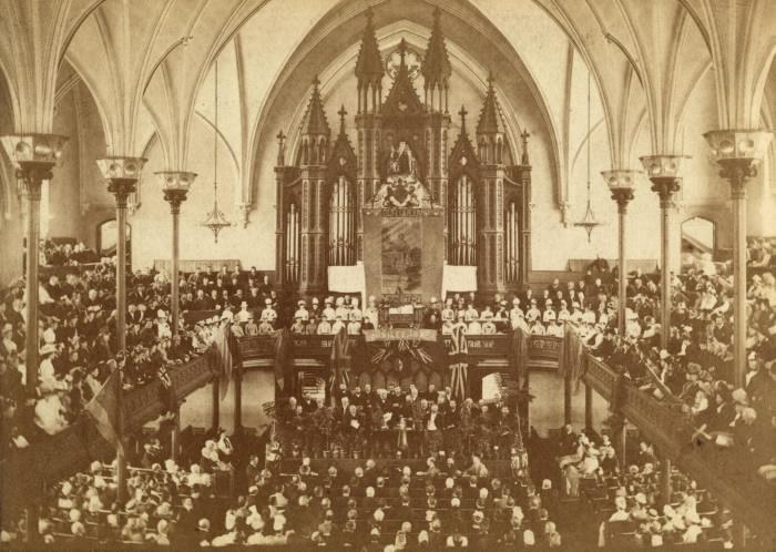 Jubilee Service 1887 Metropolitan Methodist (United) Church Queen Street East