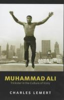 Muhammad Ali Trickster in a Culture of Irony Book Cover