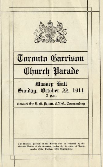 Toronto Garrison Church Parade