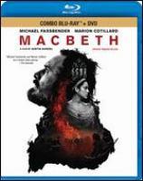 DVD Macbeth Michael Fassbender