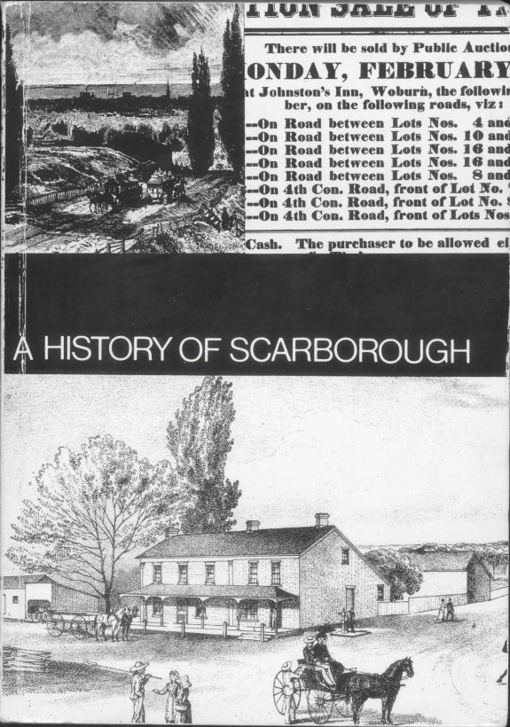 A History of Scarborough edited by Robert R Bonis