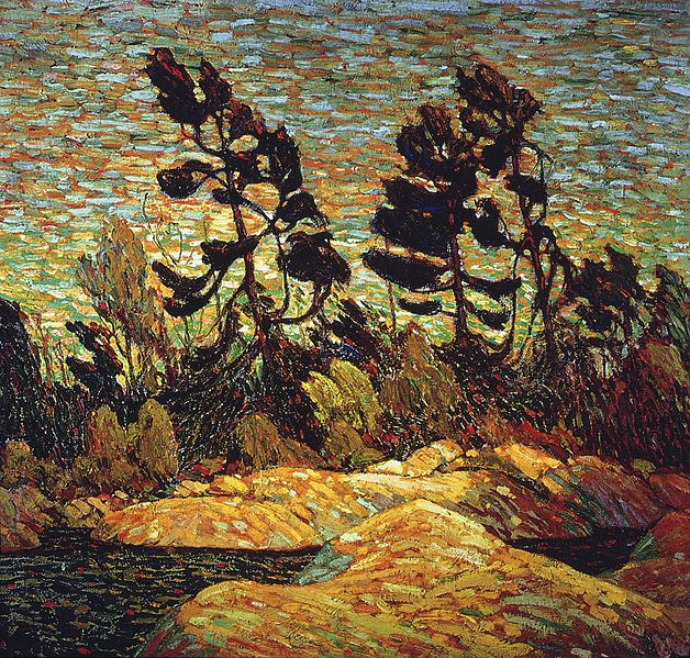628px-Tom_Thomson_-_Summer_Shore,_Georgian_Bay