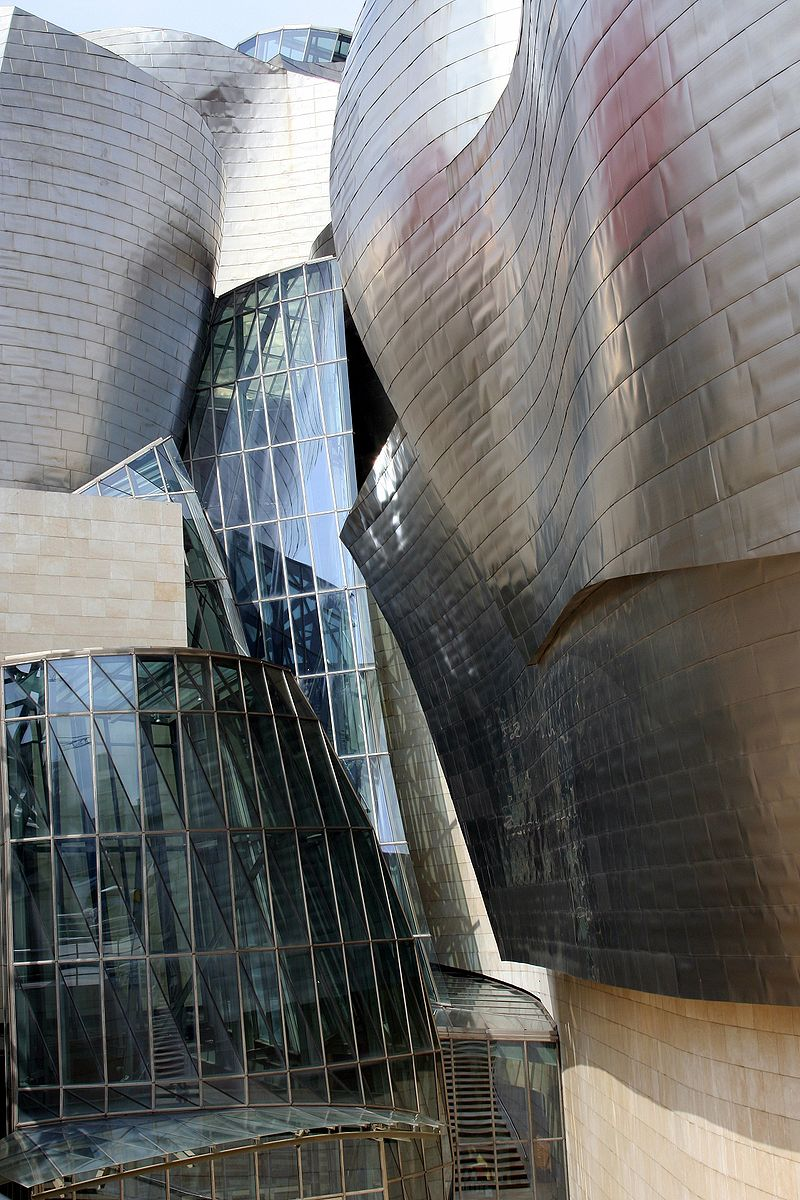 Guggenheim Bilbao detail