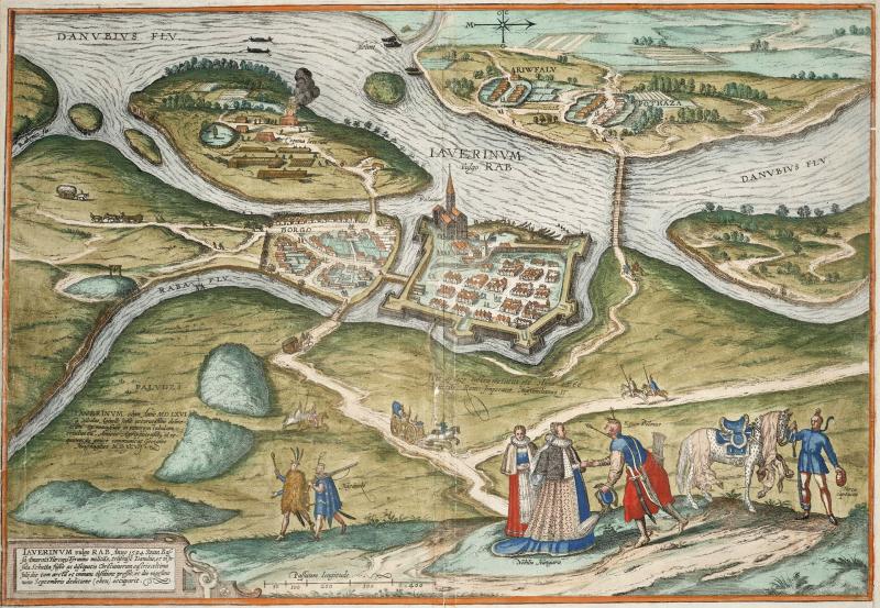 Iaverinum vulgo Rab Anno 1594