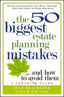 50 Biggest Estate Planning Mistakes