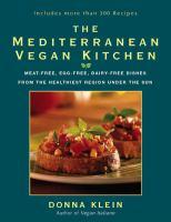 Mediterranean vegan kitchen