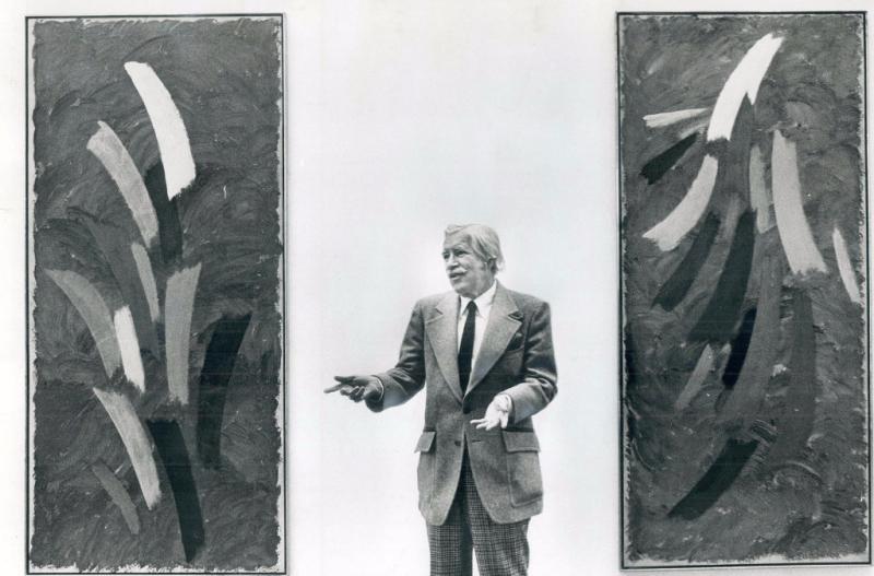Jack Bush at David Mirvish Gallery 1975
