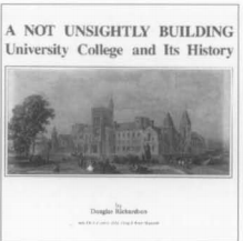 A not unsightly building University College and its history